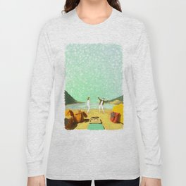 MOONRISE KINGDOM Painting #M41 Long Sleeve T-shirt