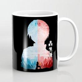 Minimalist Silhouette Todoroki Coffee Mug