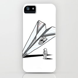 Papernauts iPhone Case