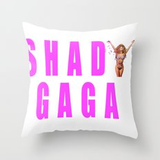 Sip champagne liked Shady Ga Ga Throw Pillow