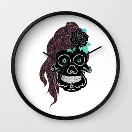 If looks could kill; you'd be a murderer Wall Clock