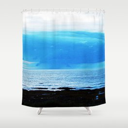 Storm Funnels Above the Sea Shower Curtain