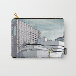 Salomon R. Guggenheim Museum, New York City Carry-All Pouch
