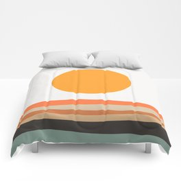 Abstract Landscape 10A Comforters
