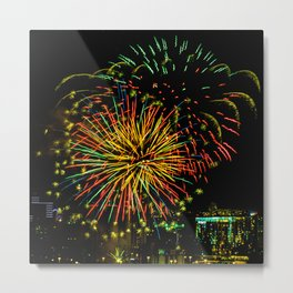 Firework collection 3 Metal Print