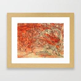 Corpus Christy Fair  Framed Art Print