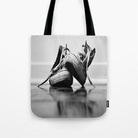 converse Tote Bags featuring Converse by K'VAL