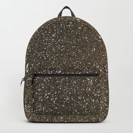 Bronze Gold Burnished Glitter Backpack