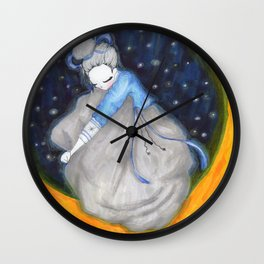 Moon Dreams Wall Clock