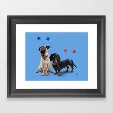 What's the Deely? (Colour) Framed Art Print