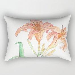 Hemerocallis (Day Lily) Rectangular Pillow