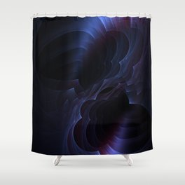 Which way is up? Shower Curtain