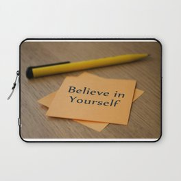 Belive in yourself Laptop Sleeve
