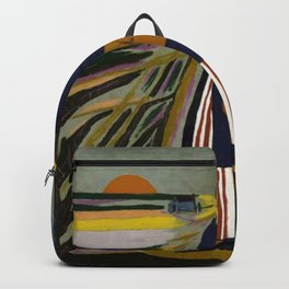 African American Masterpiece 'Experience America Harriet Tubman' by William Johnson Backpack