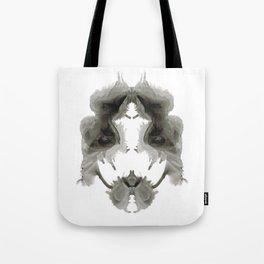 Rorschach Face Tote Bag