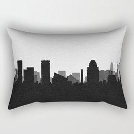 City Skylines: Baltimore Rectangular Pillow