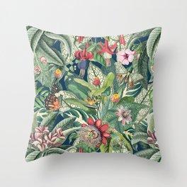 Tropical Paradise VII Throw Pillow