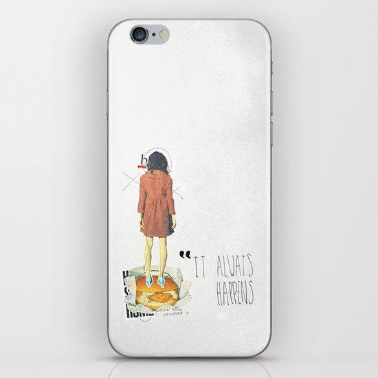 It Always Happens | Collage iPhone & iPod Skin