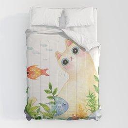 The Aquarium Cat Comforters