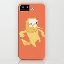 Anthrophobia Fear of Social Interactions iPhone Case
