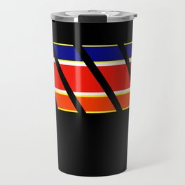 Team Colors 4...blue,orange,red,yellow Travel Mug
