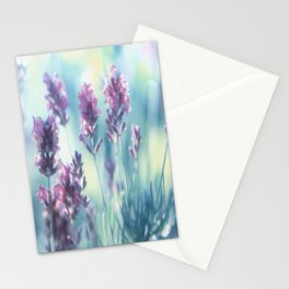 #Lavender #summer #beauty #dreams Stationery Cards
