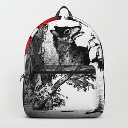 Hey there little red riding hood Backpack