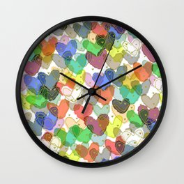 Strong Love Wall Clock