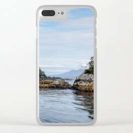 Sitka Islands Clear iPhone Case