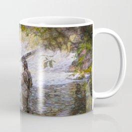 Trout fishing Coffee Mug