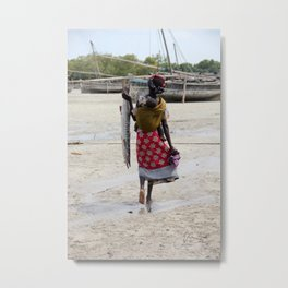 Day of Fishing Metal Print