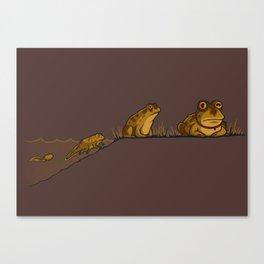 Evolution of Hypnotoad Canvas Print