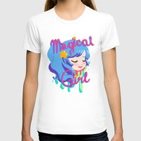 magical girl T-shirts featuring Magical Girl by Ferret Party