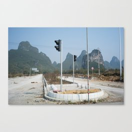 40KM to Nowhere Canvas Print