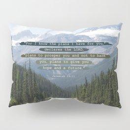 Jeremiah 29:11 Canadian Rockies Pillow Sham