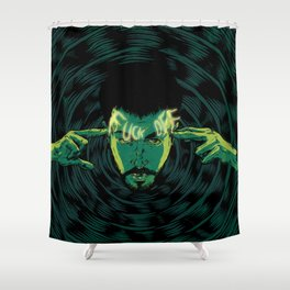 Mind-control powers in good use Shower Curtain
