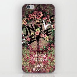JUNGLE FEVER - Justice / Love / Freedom / Roots iPhone Skin