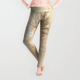 Time the rabbit and the lion Leggings