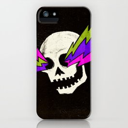 Variations on a Skull Part One iPhone Case
