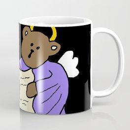Singing Teddy Bear Angels Coffee Mug