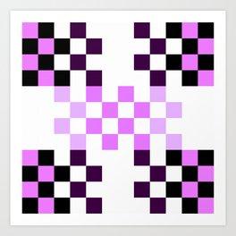 Candy Pixel Art Print