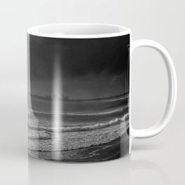 The Surfer and the Storm Coffee Mug