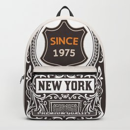New York since 1975 Backpack