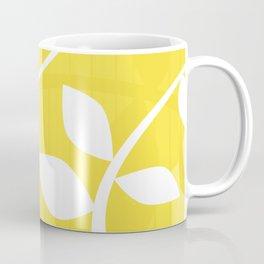 Vine in Yellow by Friztin Coffee Mug
