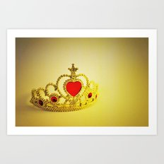 Like Royalty Art Print