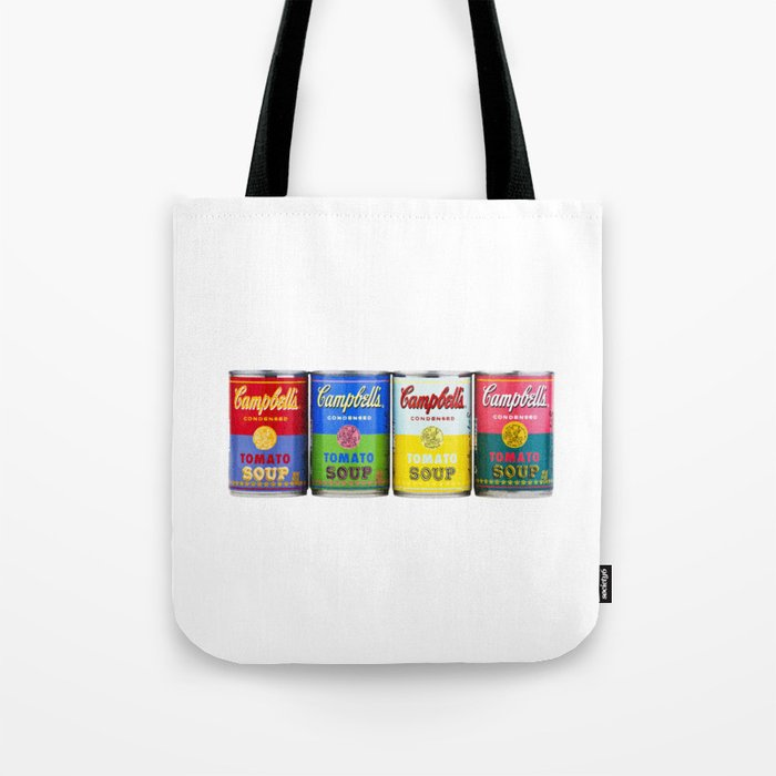 Campbell S Soup Cans Tote Bag
