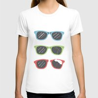 sunglasses T-shirts featuring Sunglasses by Things and Other Things