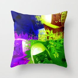 January Art Show 2010 Throw Pillow