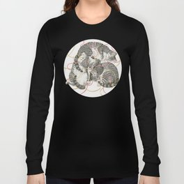 cats gold and rose Long Sleeve T-shirt