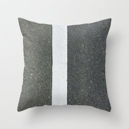 Lean left Throw Pillow